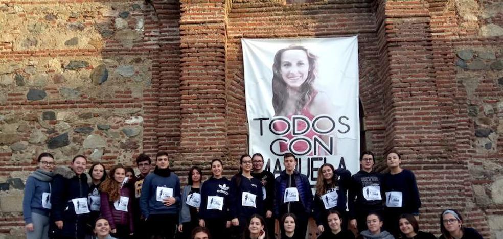 Alumnos del instituto rinden homenaje a Luelmo y recuerdan a Chavero