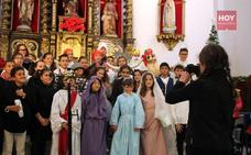 Los grupos de catequesis para la primera comunión festejan la Navidad