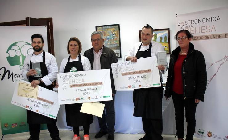 Cata y entrega de premios del V Concurso Nacional de Cocina de la Dehesa