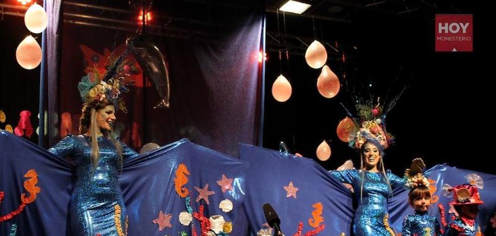 Gloria y Nieves pronuncian su pregón de Carnaval 'bajo el mar'
