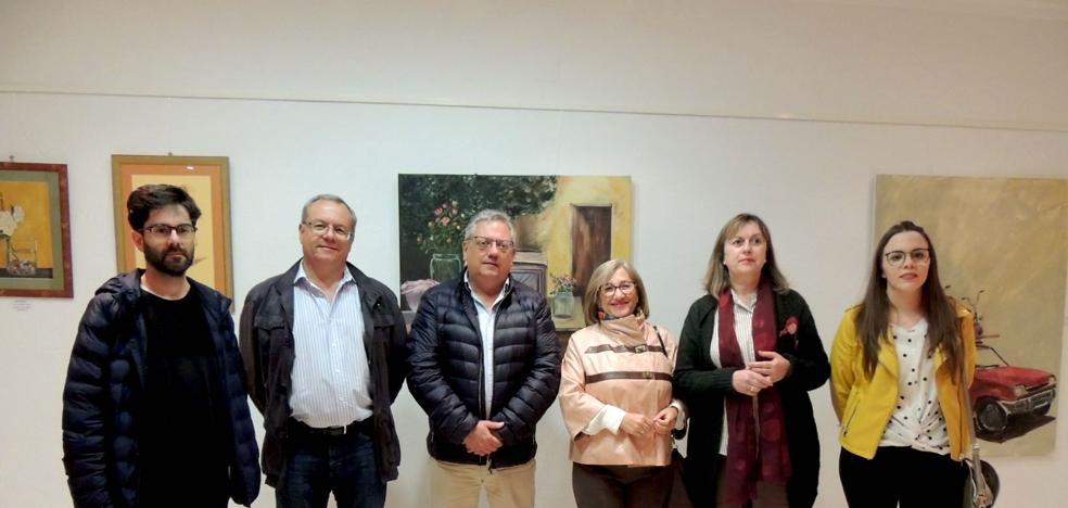 Nueve vecinos exponen sus obras con motivo de la 'V Exposición de Pintores Locales'