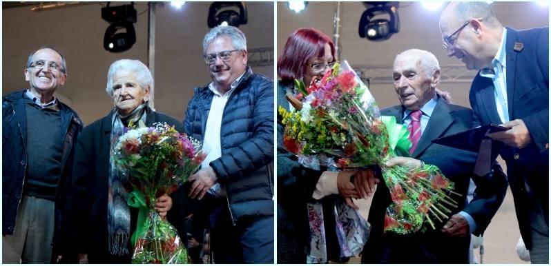 Tentudía homenajea a sus abuelos Martina y Joaquín en el Día de la comarca