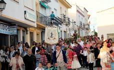 Monesterio celebra el día de San Isidro con la procesión del Santo por las calles del pueblo