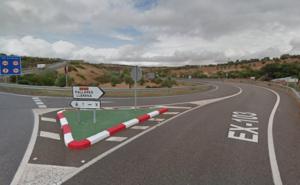 El tramo de la EX-103 entre Pallares y Monesterio se verá beneficiado por obras de mejora