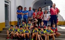 14 pequeños deportistas llevan el nombre de Monesterio a nivel nacional