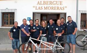 Monesterio cuenta con uno de los contadores que medirán el flujo de cicloturistas en la ruta internacional Eurovelo