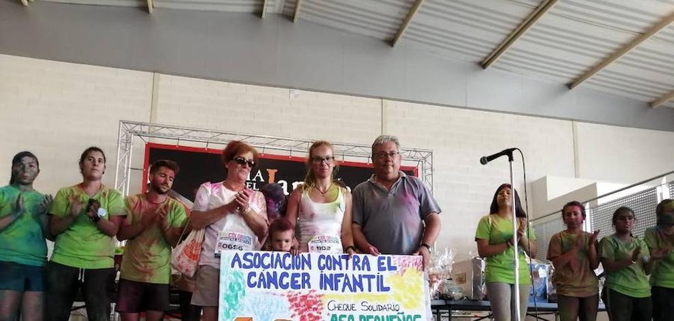La II Color Run reúne a más de mil personas en torno a la lucha por la leucemia
