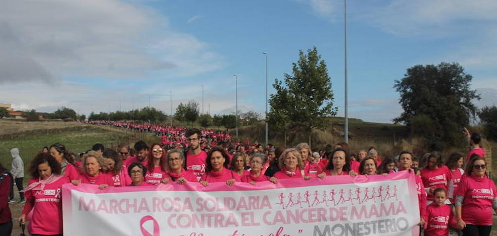 Monesterio conmemorará el Día Mundial contra el Cáncer de Mama con una marcha solidaria