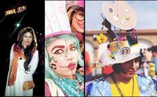 «Mi inspiración para los disfraces son los Carnavales de Gran Canaria»