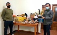 Francisco Antonio Pallero, agraciado con la cesta navideña de la Sociedad de Cazadores de Monesterio
