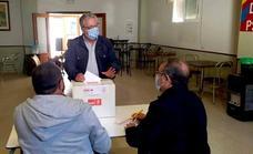 Rafael Lemus, candidato favorito para los militantes socialistas de Monesterio