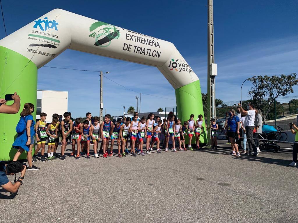 Monesterio estrena hoy el 'Circuito Duatlón Divertido JUDEX Menores' en su VIII Duatlón Cros
