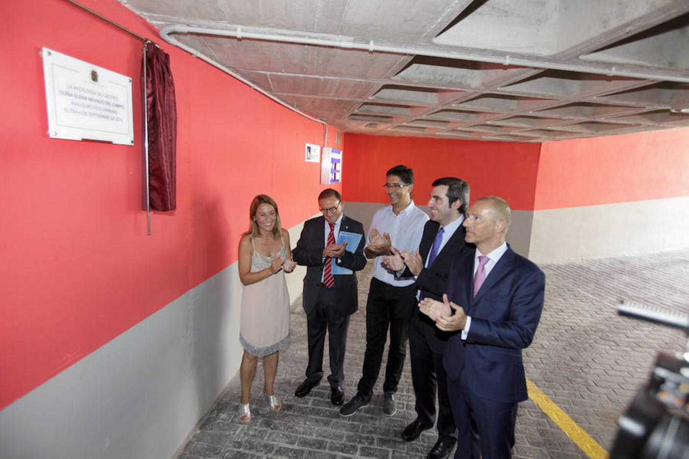 Inauguración del parking Primo de Rivera