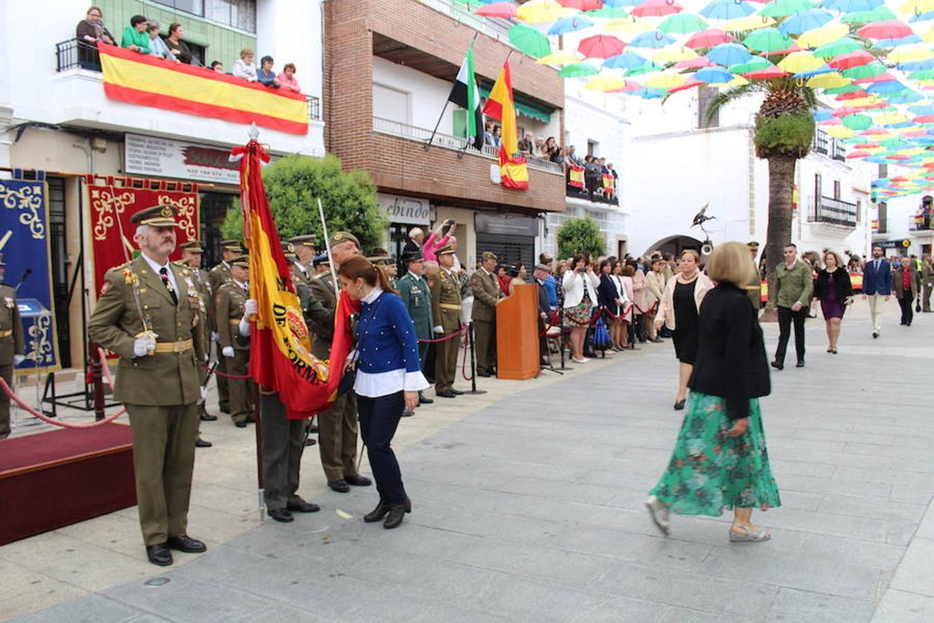 Jura de bandera en la Plaza Mayor