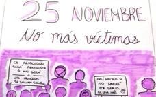 Marina Bravo Aceituno gana el concurso de carteles contra la violencia de género