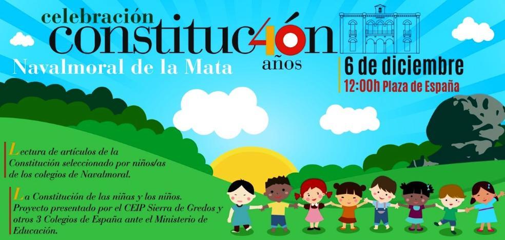 El Ayuntamiento se suma al 40 aniversario de la Constitución