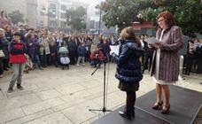 Los escolares, protagonistas del acto municipal por el 40 aniversario de la Constitución