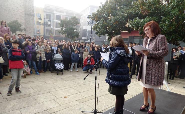 Navalmoral conmemora el 40 aniversario de la Constitución
