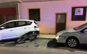 La Policía detiene al conductor que provoca un accidente en la calle Genaro Cajal y se da a la fuga