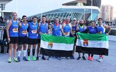 Amplia presencia de los Fondistas Moralos en la Maratón de Valencia