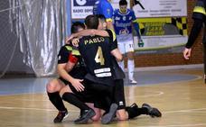 El derbi de la primera vuelta se lo lleva el Cáceres en Navalmoral, 2-5