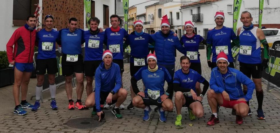 Amplia presencia de Fondistas Moralos en la XX Carrera de Navidad de Almaraz