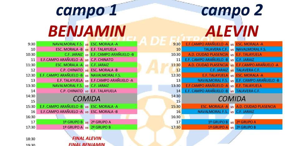 Equipos de categorías benjamín y alevín disputarán el III Torneo de Reyes Fútbol-8 'Juguete solidario'