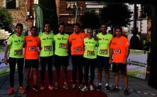 Buena actuación del equipo Tifón en la San Silvestre jaraiceña