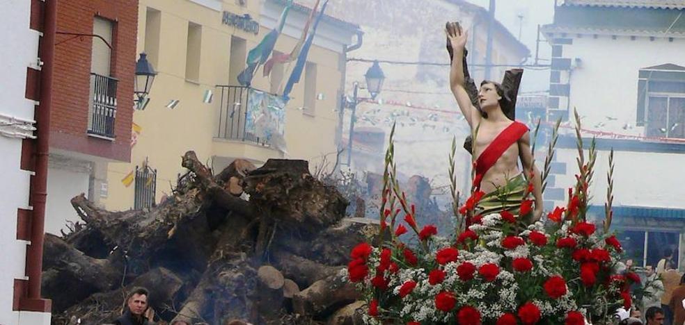 Majadas de Tiétar celebra hasta el martes las fiestas de San Sebastián