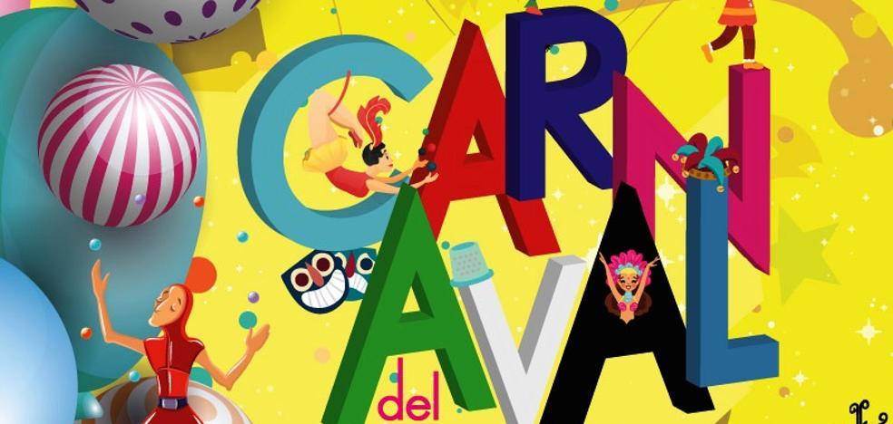 'Gravedad C', del jarandillano Pablo Rodríguez Alegre, es el cartel que anunciará el Carnaval 2019