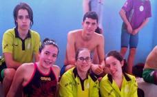 Sara Nieto, subcampeona de Extremadura junior de natación