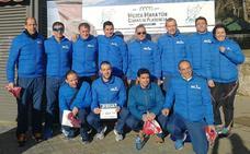 Fondistas Moralos, terceros por equipos en la Media Maratón de Plasencia