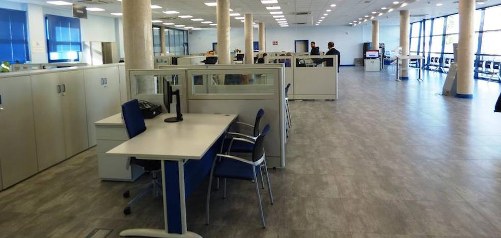 Las nuevas oficinas de la Agencia Tributaria, más luminosas y accesibles
