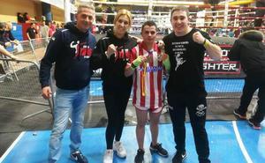Jesús Solís, plata en kick boxing en el 3er. Open de Guadalajara