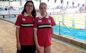 Sheila Mirasierra disputa el Campeonato de España de Natación Adaptada por selecciones autonómicas