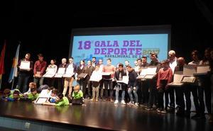 La casa de cultura acoge una nueva edición de la Gala del Deporte
