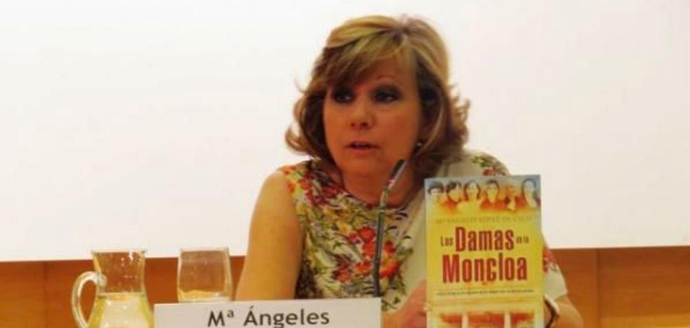Charla de la escritora y periodista María Ángeles López de Celis en la Fundación Concha