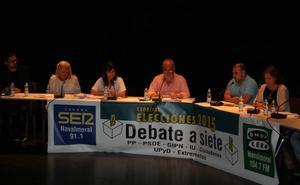 Los ocho candidatos a la alcaldía debatirán en el Teatro del Mercado