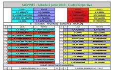 El Torneo de Fútbol 8 se completa este fin de semana con 42 equipos de tres categorías