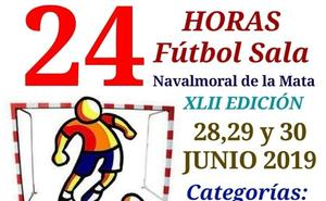 Las 24 Horas de Fútbol-Sala repartirán 1.900 euros en premios