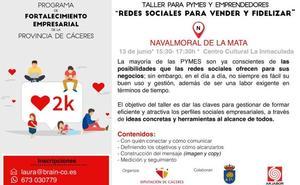 La Inmaculada acogerá el jueves un taller sobre redes sociales para pymes y emprendedores