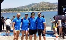 Los nadadores de ADA ultiman su preparación para afrontar el Cruce del Estrecho en agosto
