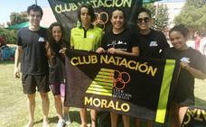 El Club Natación Moralo se trae dos medallas de plata y un bronce del Campeonato de Extremadura
