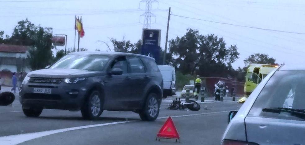 Fallece un motorista de 60 años en una colisión cerca de Talayuela