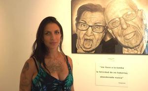 Lidia Iberart, contando historias a través del grafito y las arrugas