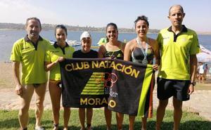 El Club Natación Moralo inicia el Circuito de Aguas Abiertas con cuatro primeros puestos y dos terceros