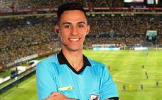 «El día de mi debut en 2ª División B, cumpliré un sueño», dice el árbitro moralo Jayro Muñoz