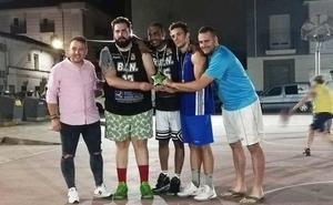 Los Monjes ganaron el 2º torneo 3x3 Street Basket en absoluta