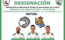 Jayro Muñoz debutará el sábado en 2ª B dirigiendo a Unionistas de Salamanca y Real Sociedad B