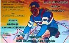 Romangordo acogerá la salida de la II Ruta Cicloclásica Albalat, que se celebrará el 22 de septiembre